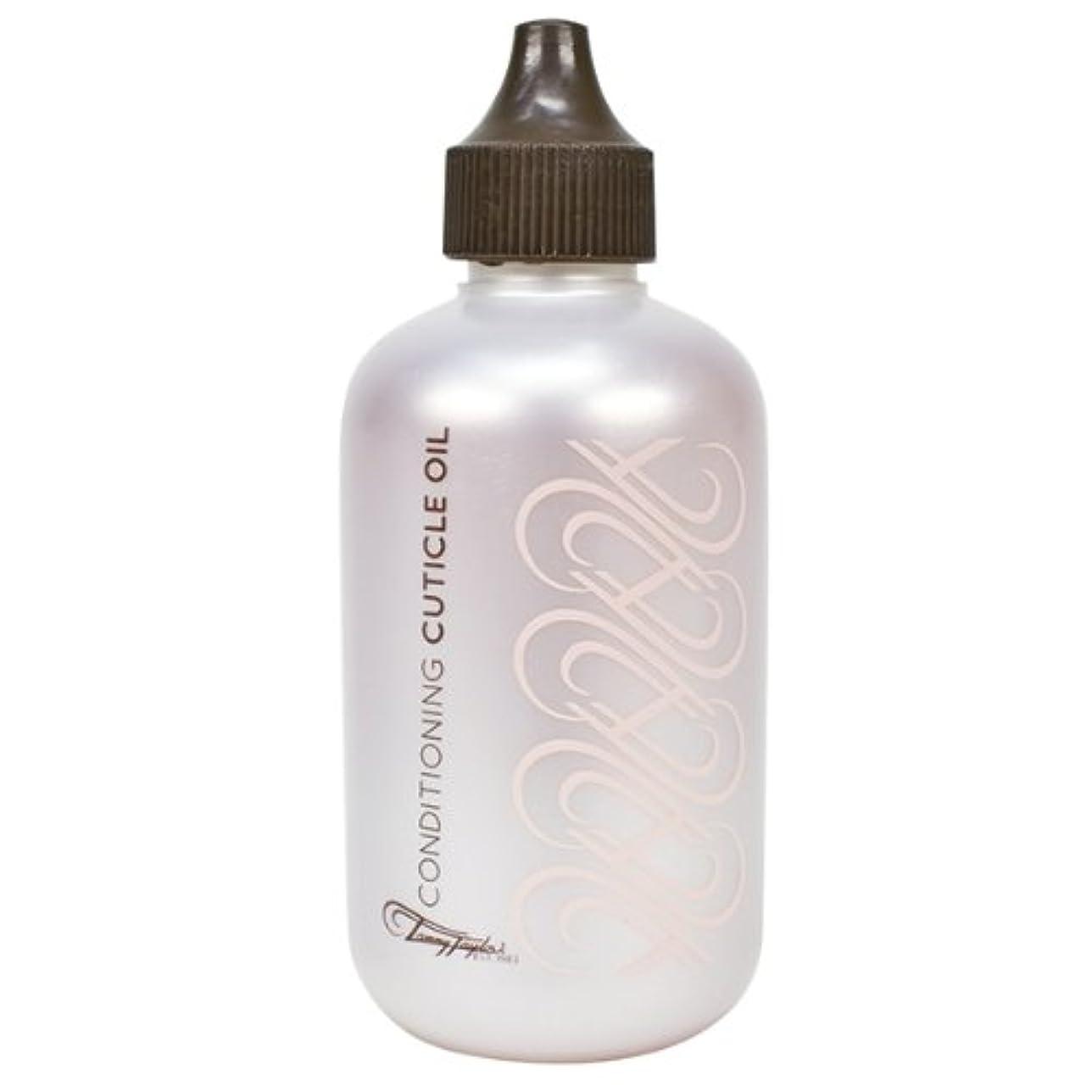 モットー超高層ビル肺Tammy Taylor - Conditioning Cuticle Oil -Peach - 4 Oz / 118mL