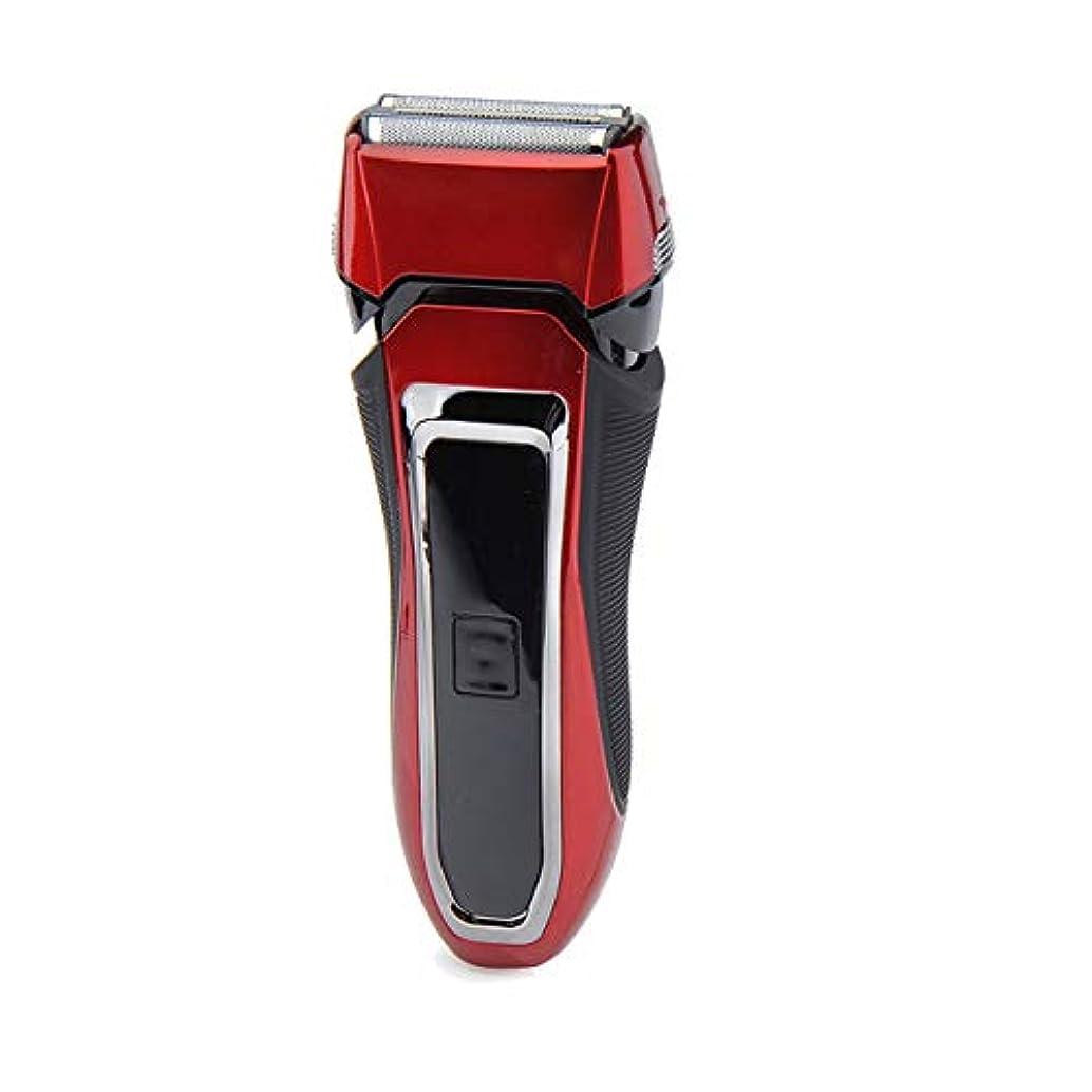 精査する寄託平日TeLife ひげそり 電動 メンズシェーバー 往復式 シェーバー 3枚刃 髭剃り 水洗い/お風呂剃り可 急速充電 電気シェーバー (ブルー)