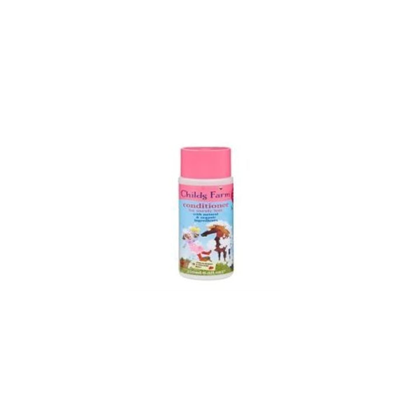 たっぷり作者繁栄Conditioner for Unruly Hair (250ml) x 2 Pack Deal Saver by Childs Farm