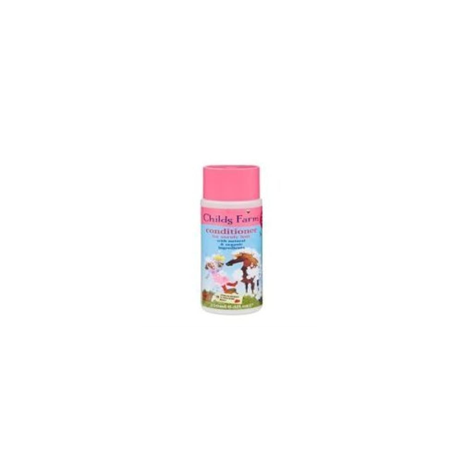 肺炎失業者リブConditioner for Unruly Hair (250ml) x 2 Pack Deal Saver by Childs Farm