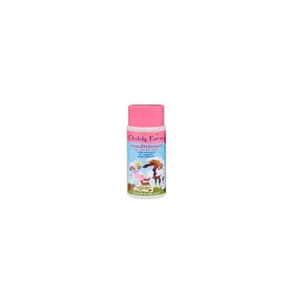 被害者たまに疑い者Conditioner for Unruly Hair (250ml) x 2 Pack Deal Saver by Childs Farm