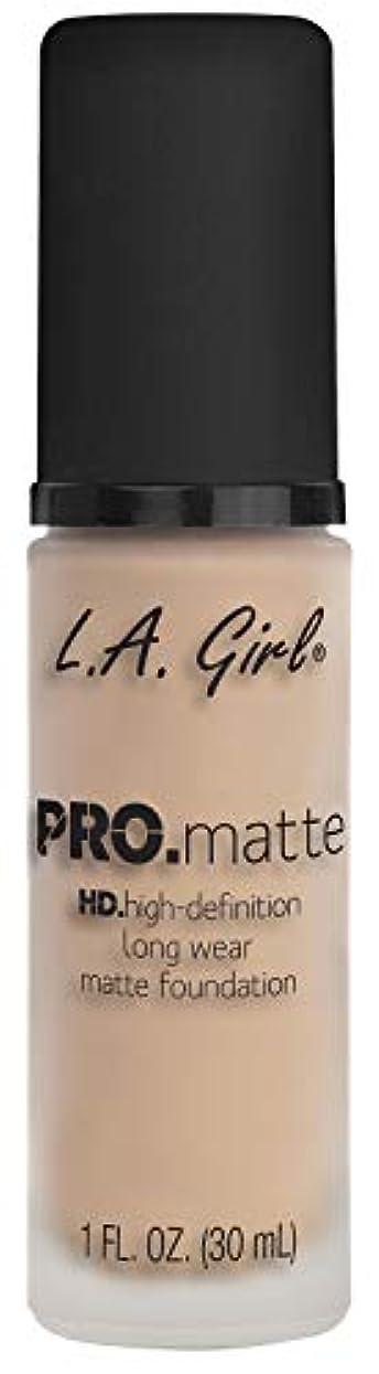 軽コンデンサー同時L.A. GIRL Pro Matte Foundation - Porcelain (並行輸入品)