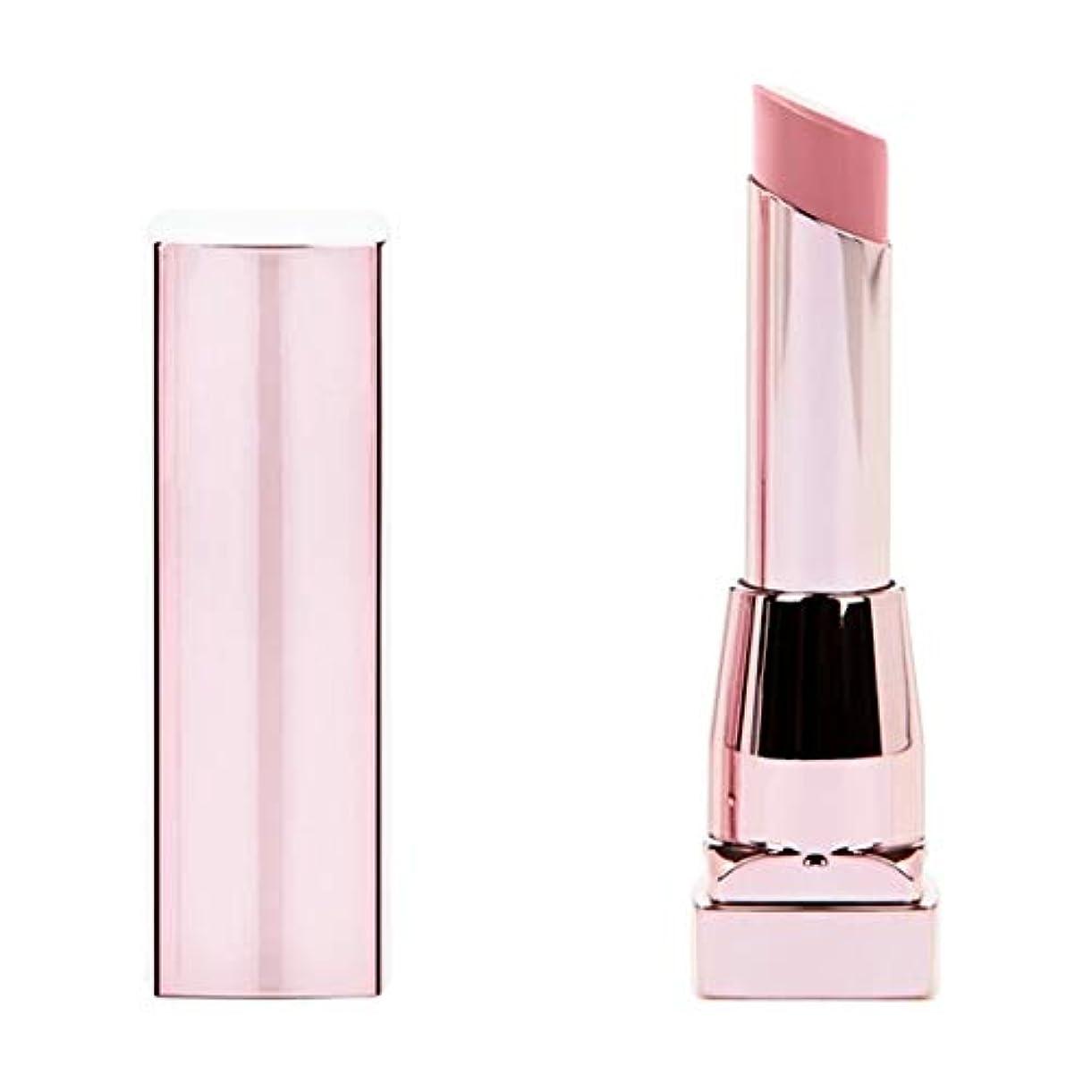 蚊模倣倍増(6 Pack) MAYBELLINE Color Sensational Shine Compulsion Lipstick - Undressed Pink 075 (並行輸入品)