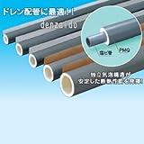 因幡電工 断熱パイプカバー ポリオレフィン外層フィルム付 スリットタイプ 適合配管サイズ:VP-20 PMQ-20