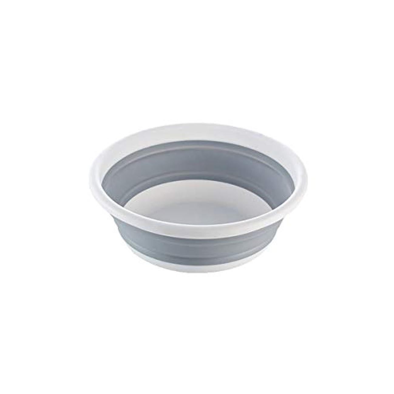 オフェンス前提条件後退するXIONGHAIZI 折りたたみ式洗面器、家庭用洗面器、浸水用洗面器、携帯用パッド入り旅行用洗面器、屋外ランドリー洗面器