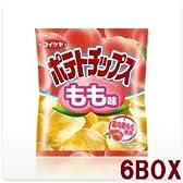 コイケヤ ポテトチップス もも味 50g 12袋入り6BOX(72袋)【湖池屋】
