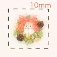 リース【クリスマス ネイル&デコシール】(3)/1シート9枚入