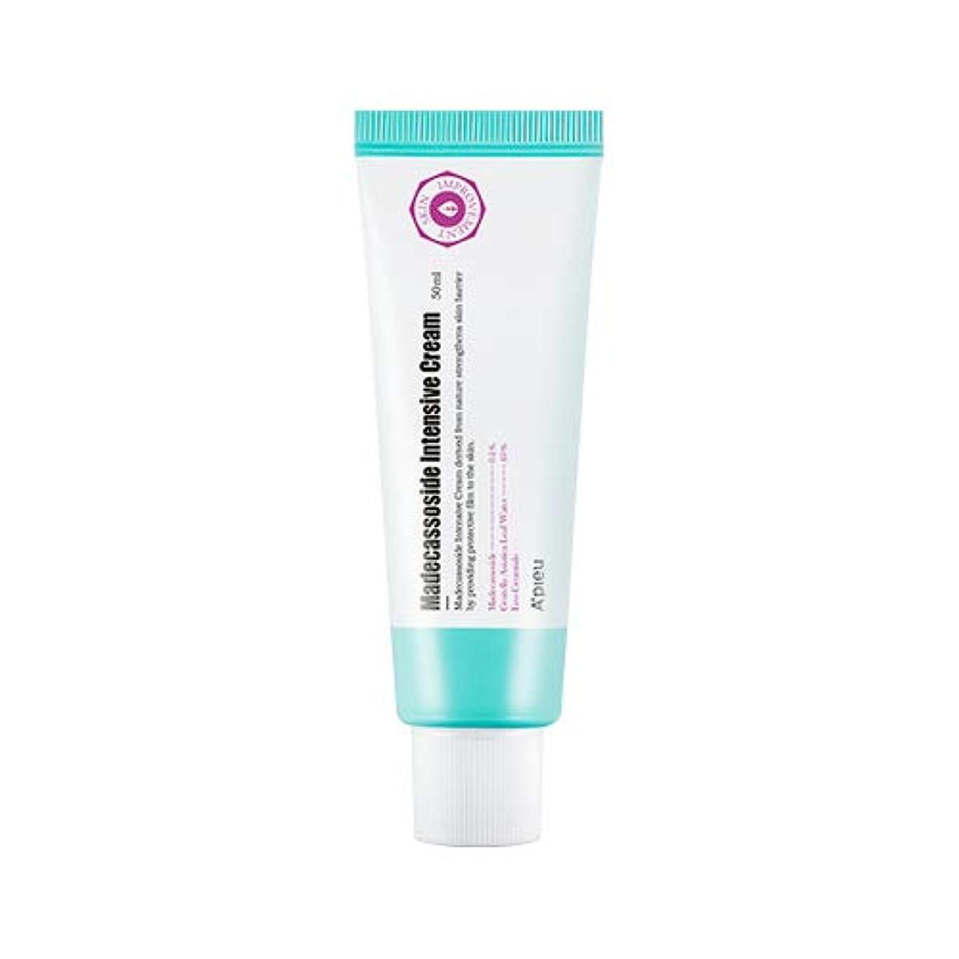 バランスバイバイ気分アピュ マデカソシド インテンシブクリーム 50ml / APIEU Madecassoside Intensive Cream 50ml [並行輸入品]