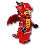 【開封済未使用品】 LEGO レゴ ミニフィギュアシリーズ18 ドラゴン男【71021-07】