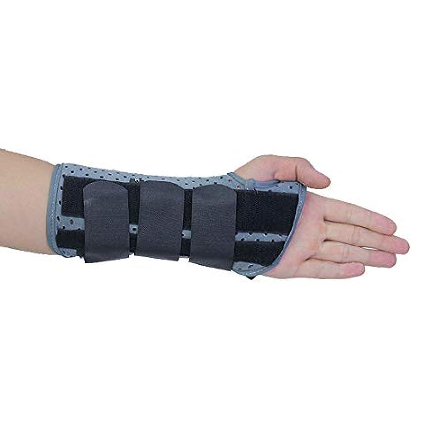 時間とともに階層運動する手首サポートブレース-手根管副木-手根管症候群、捻Sp、腱炎、関節炎の痛みを軽減,Righthand,M