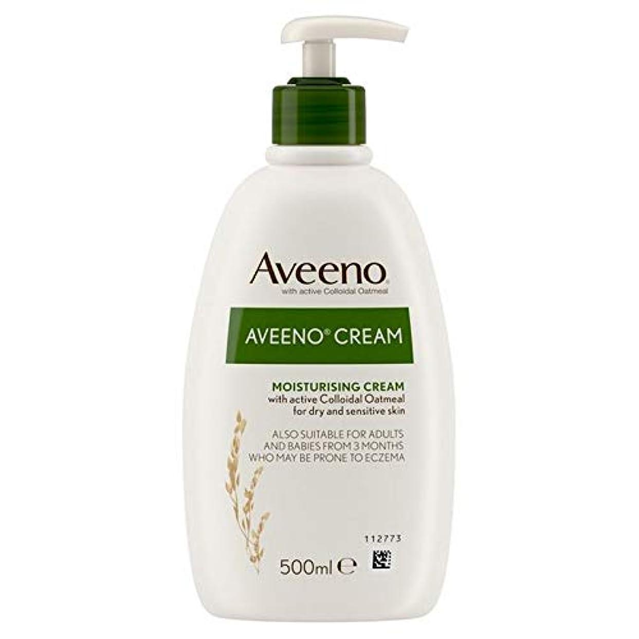 ドリル従者時期尚早[Aveeno] Aveenoクリーム500ミリリットル - Aveeno Cream 500ml [並行輸入品]