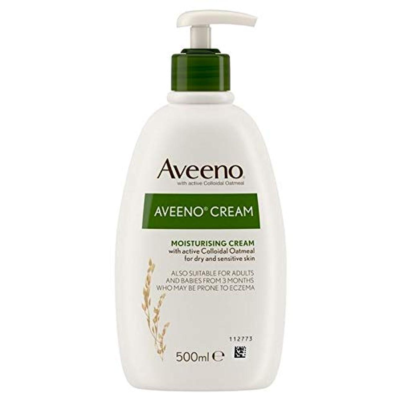 案件想像力豊かな抗議[Aveeno] Aveenoクリーム500ミリリットル - Aveeno Cream 500ml [並行輸入品]