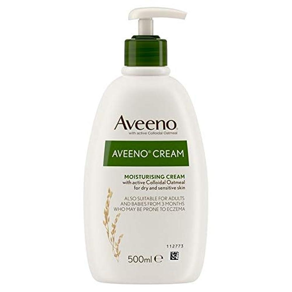 スケート別れる強います[Aveeno] Aveenoクリーム500ミリリットル - Aveeno Cream 500ml [並行輸入品]