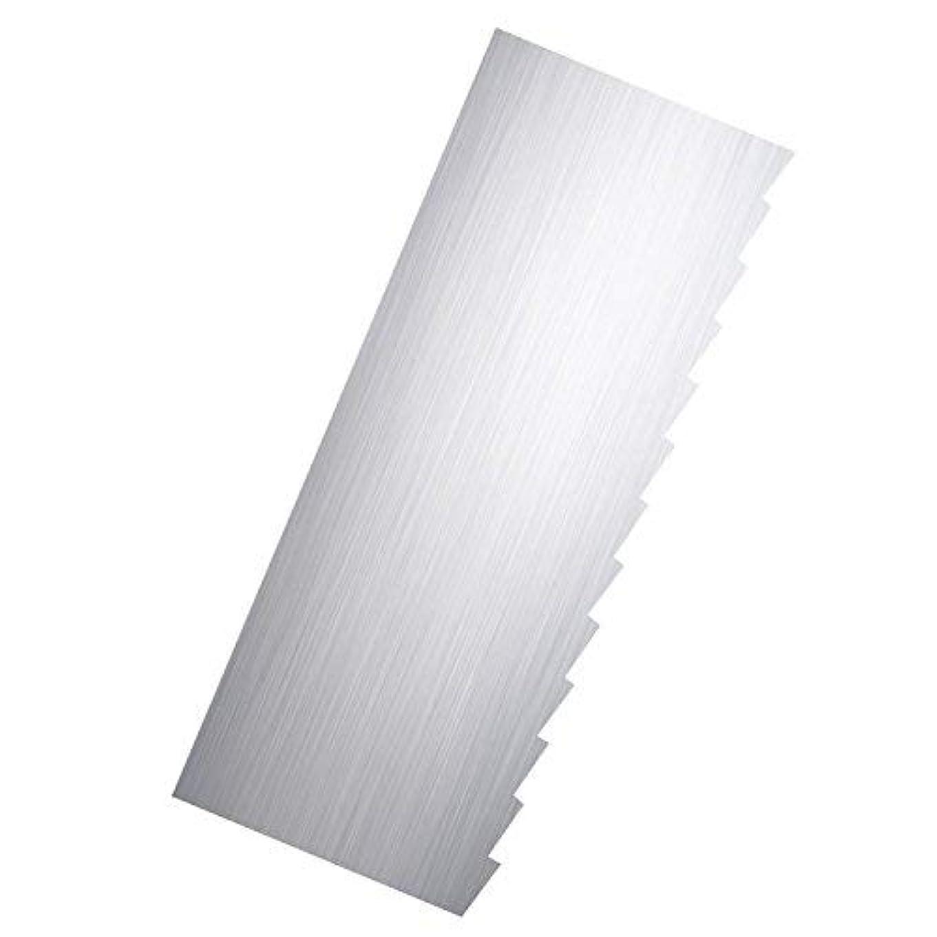 日記がっかりするエゴマニアRibbon Stripe Pleated Contour Combs Scraper [並行輸入品]
