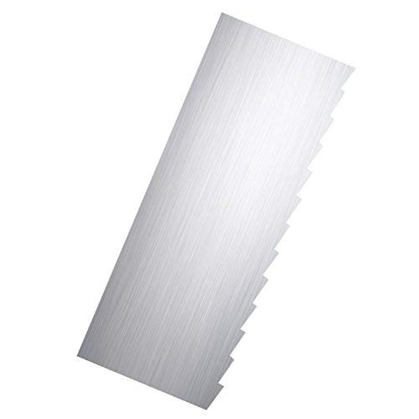 フロンティアのぞき穴コメントRibbon Stripe Pleated Contour Combs Scraper [並行輸入品]