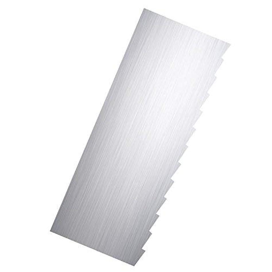 棚部分的に日光Ribbon Stripe Pleated Contour Combs Scraper [並行輸入品]