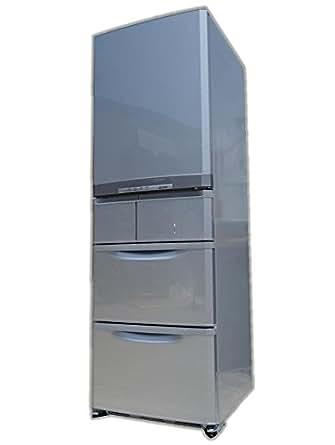 三菱 420L 5ドア冷蔵庫(エレガントシルバー)MITSUBISHI 切れちゃう瞬冷凍 MR-B42Y-S