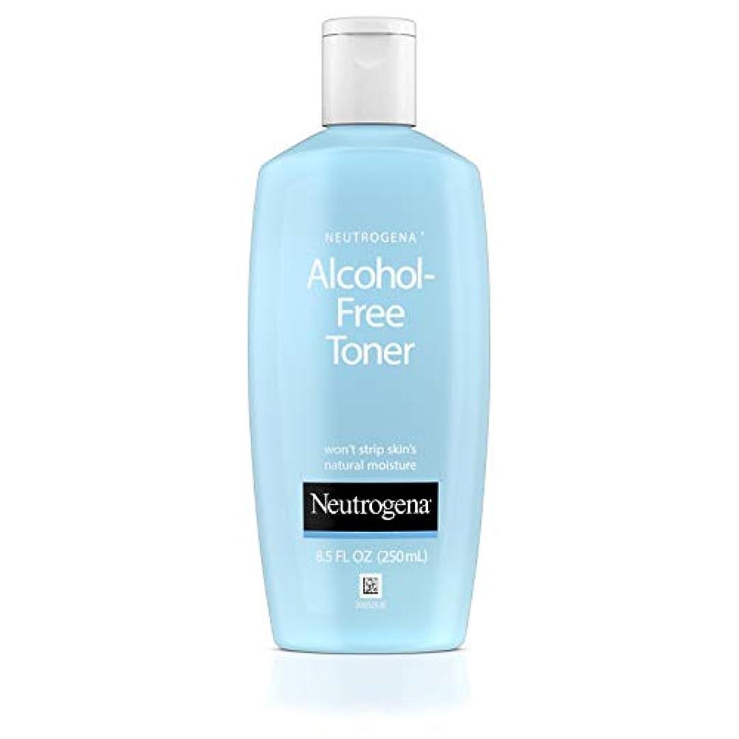 刑務所残酷購入Neutrogena Alcohol Free Toner - 8.5 oz (並行輸入品)