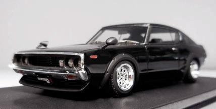 イグニッションモデル 1/43 ニッサン スカイライン 2000 GT-R (KPGC110) ブラック IG0778の詳細を見る