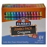 ELMER'S 06180 64 Pack of Crayons Novelty [並行輸入品]
