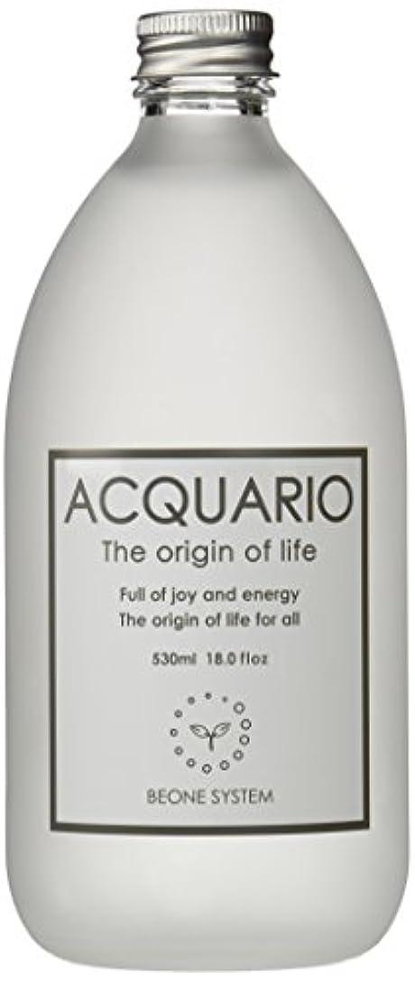 ブラシオートマトン先例アクアーリオ(自然化粧水530ml3本)