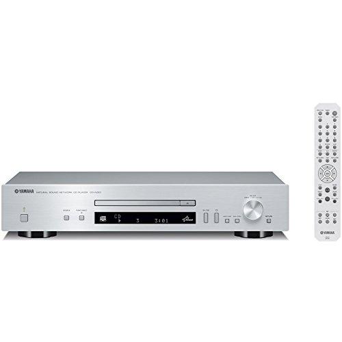 ヤマハ ネットワークCDプレーヤー 192kHz/24bit ハイレゾ音源対応 シルバー CD-N301(S)