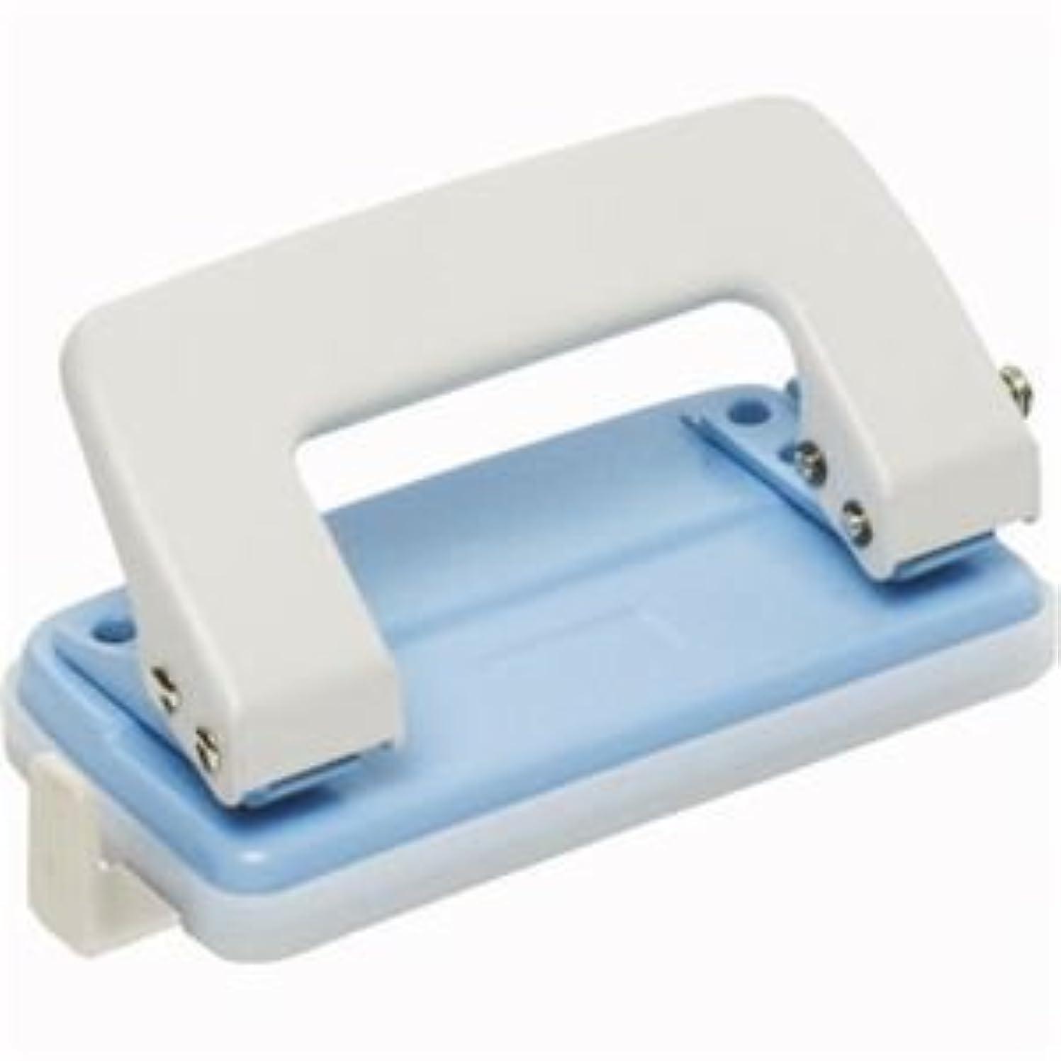 滑り台段落適応する(まとめ) ソニック 2穴パンチ 小 10枚穿孔 青 DA-396-B 1台 【×20セット】