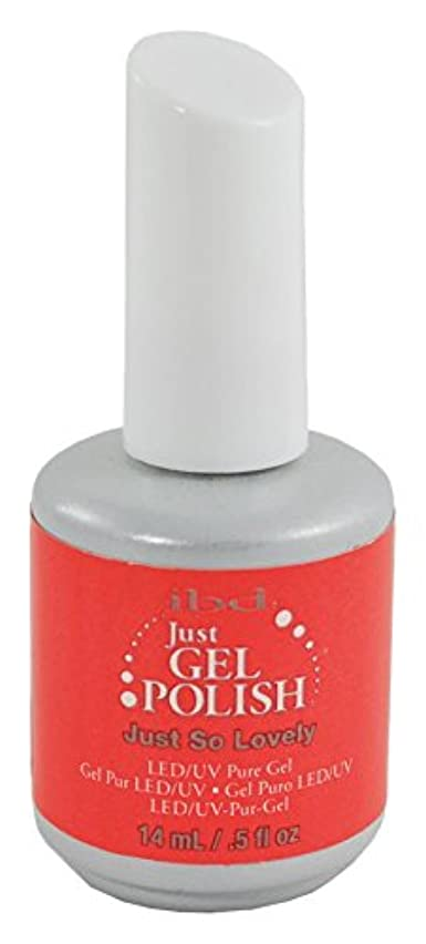 先避けられない狂気IBD Just Gel Polish - Just So Lovely - 0.5oz / 14ml