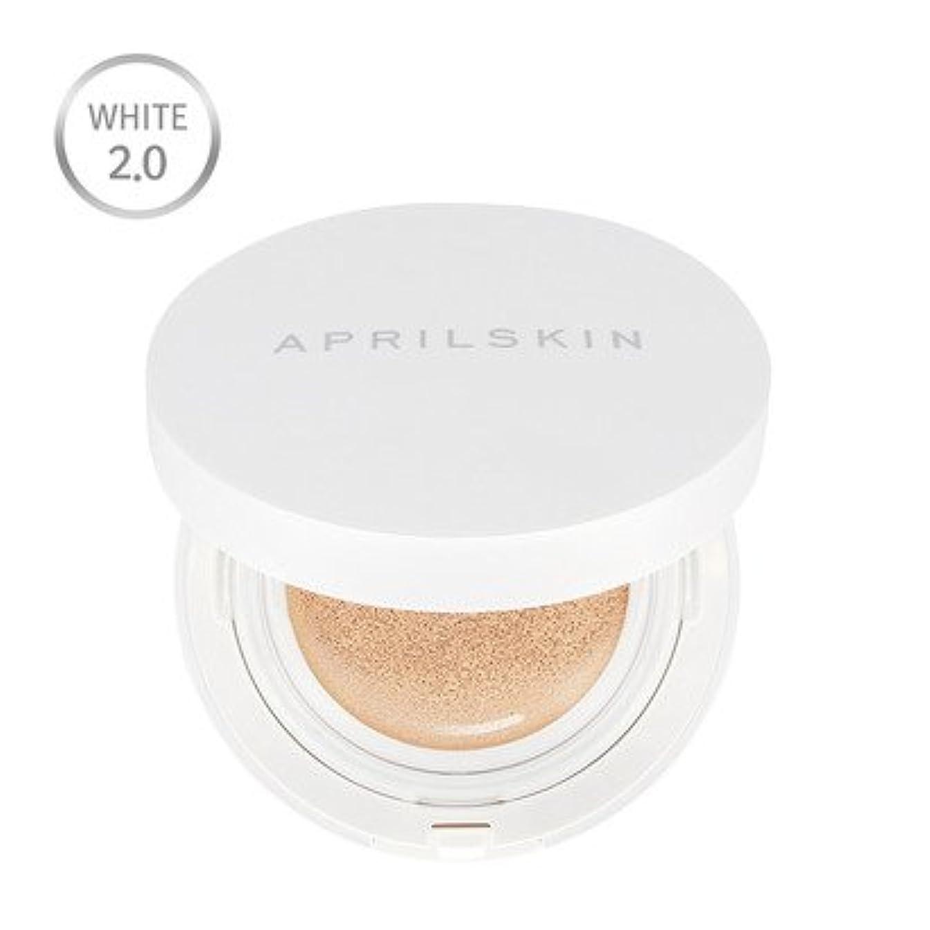 海魅了する討論[Renewal] APRILSKIN Magic Snow Cushion * White * 2.0 15g/エイプリルスキン マジック スノー クッション * ホワイト * 2.0 15g (#21 Light Beige...
