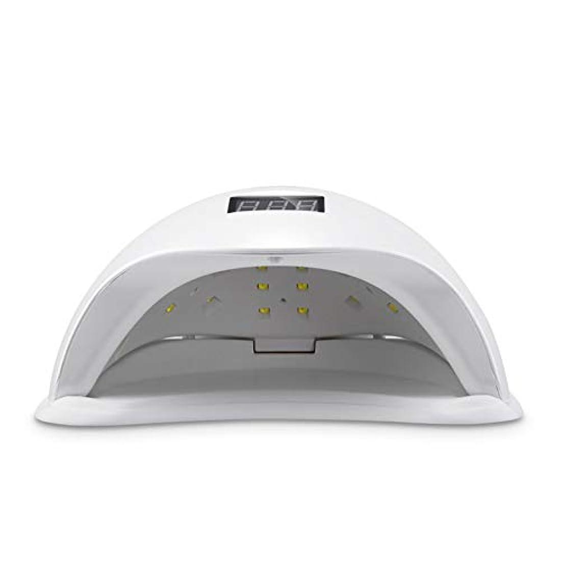 UVネイルランプ、ネイルドライヤー速乾LED UVネイルドライヤー、4タイマー設定