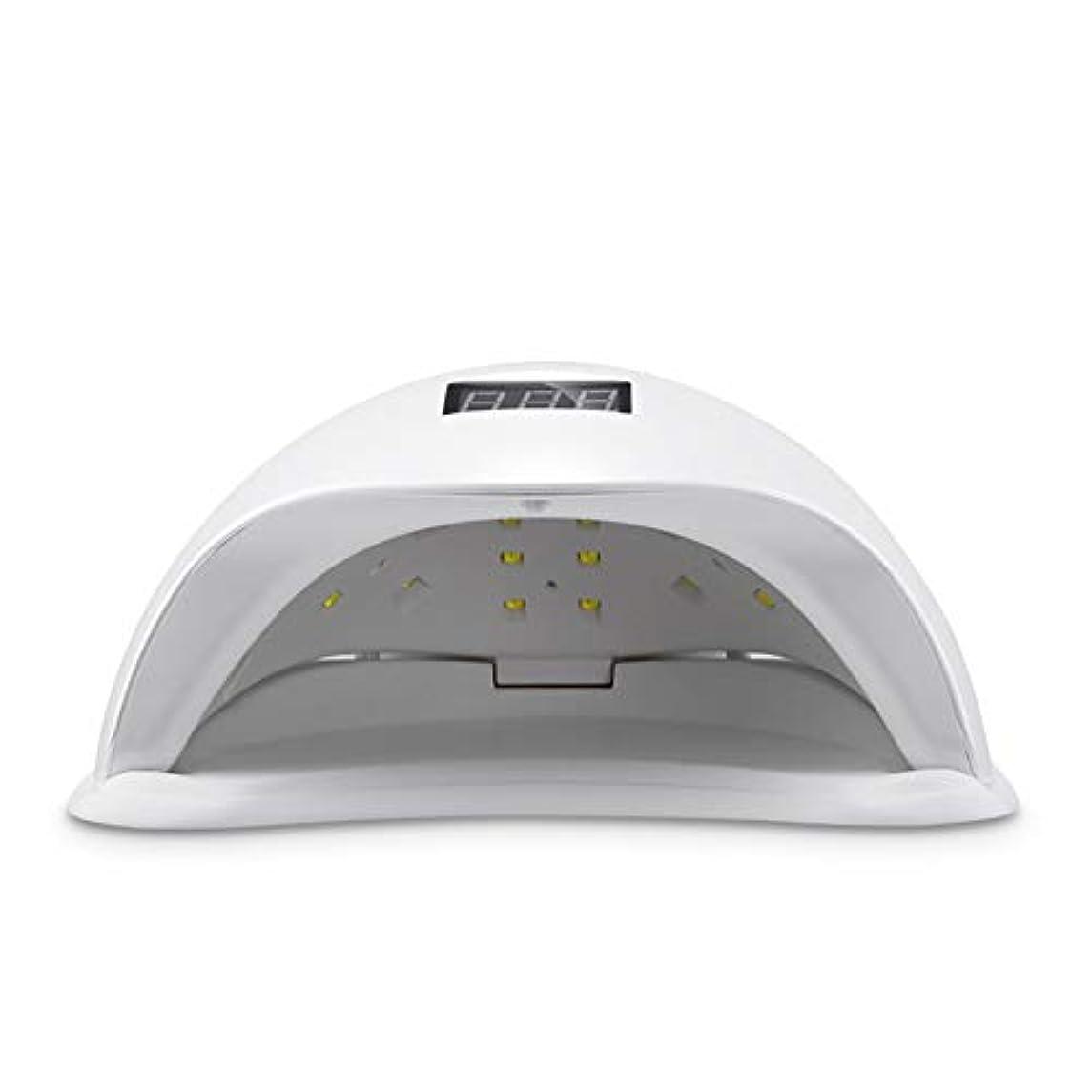罰する暗黙ハリウッドUVネイルランプ、ネイルドライヤー速乾LED UVネイルドライヤー、4タイマー設定