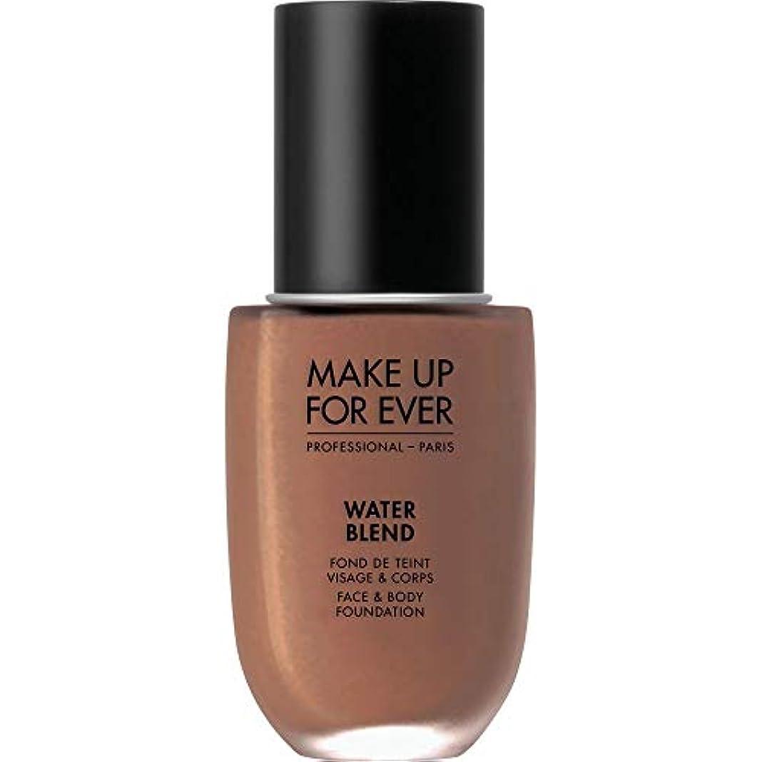 塊乳白色有利[MAKE UP FOR EVER ] これまでの水のブレンドを補う - フェイス&ボディ基礎50MlのR520 - シナモンを - MAKE UP FOR EVER Water Blend - Face & Body...
