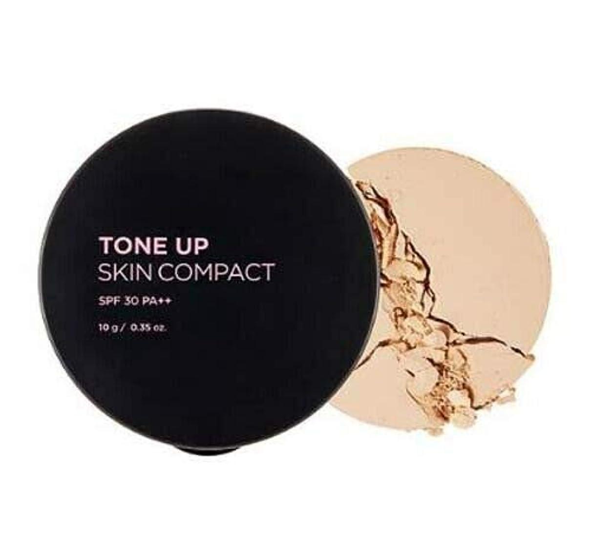 凍ったプラスチックさびた[ザ?フェイスショップ] THE FACE SHOP [トーンアップ コンパクト 10g] Tone Up Compact SPF30 PA++ 10g [海外直送品] (#21. Apricot Beige)