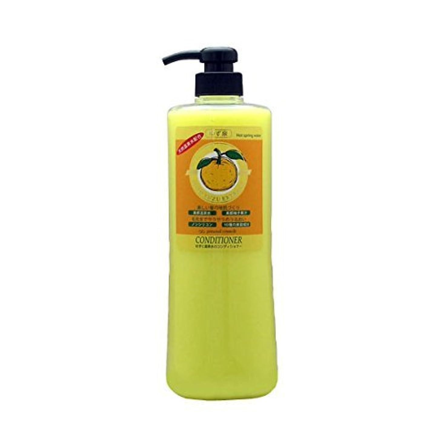 石鹸エンジン電化するPC YUKA ゆずと温泉水のコンディショナー 960ml