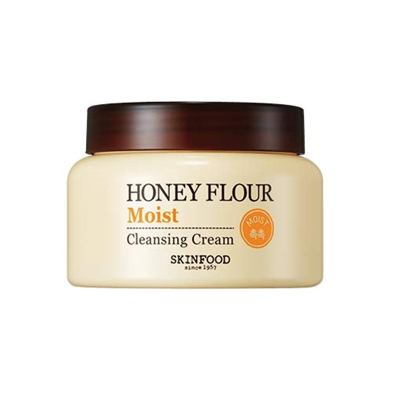連隊贅沢なエイリアスSkinfood/Honey Flour Moist Cleansing Cream/ハニーフラワーモイストクレンジングクリーム/225ml [並行輸入品]