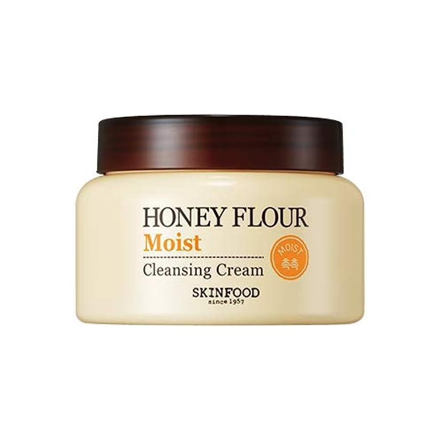 トーンまた明日ねサイレントSkinfood/Honey Flour Moist Cleansing Cream/ハニーフラワーモイストクレンジングクリーム/225ml [並行輸入品]