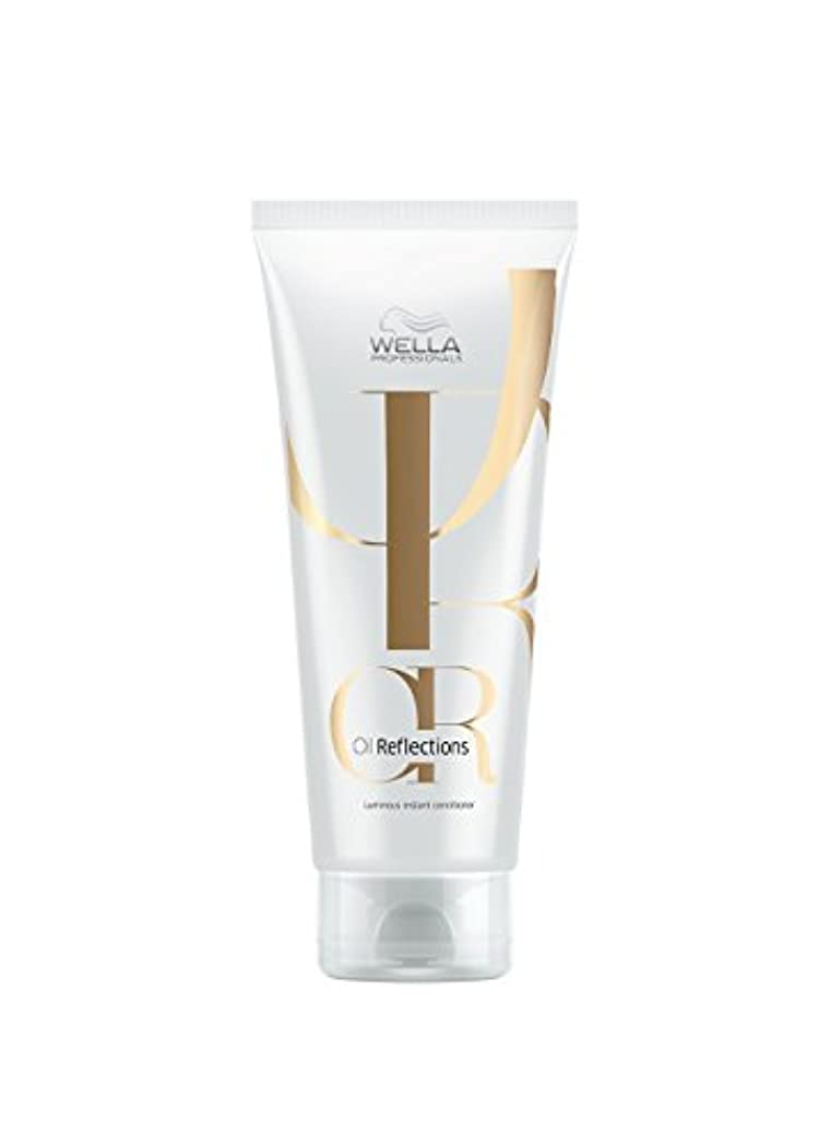 分注する提供正当化するWella Oil Reflections Luminous Instant Conditioner 200ml (200ML)
