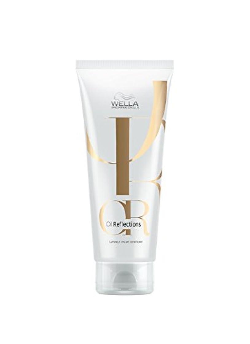 バット心配降伏Wella Oil Reflections Luminous Instant Conditioner ウエラ オイルリフレクション コンディショナー 200ml [並行輸入品]