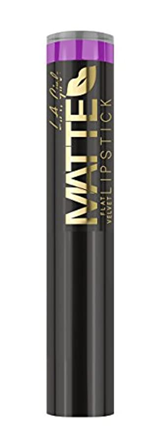 師匠工業化するナンセンスL.A. GIRL Matte Flat Velvet Lipstick Giggle (並行輸入品)
