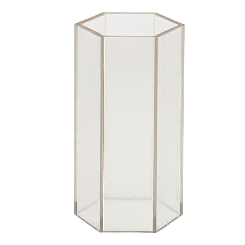 Dovewill 耐久性 耐熱性 DIY キャンドルを作る 六角形 キャンドル金型 石鹸金型 全2サイズ  - 5x10.2cm