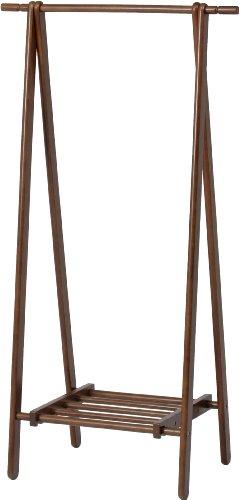 不二貿易 木製 ハンガー ブラウン 6110-6-80(KI)...