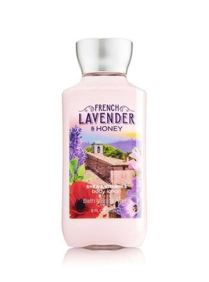 エキサイティングひも散髪【Bath&Body Works/バス&ボディワークス】 ボディローション フレンチラベンダー&ハニー Body Lotion French Lavender & Honey 8 fl oz / 236 mL [並行輸入品]