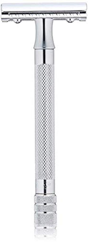 アカデミーアンビエント危険なメルクール MERKUR (独) 髭剃り MK-23C(ひげそり) 両刃ホルダー (替刃1枚付) [並行輸入品]