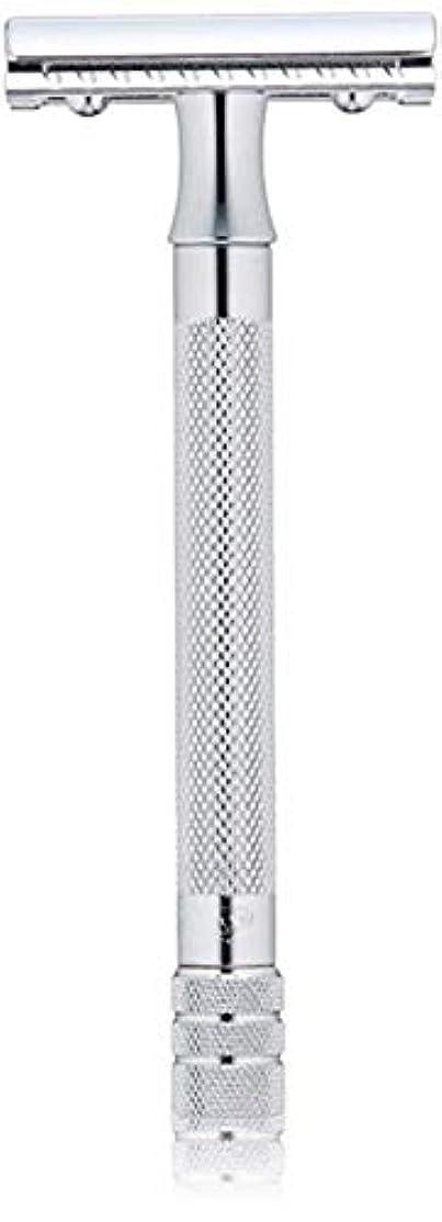 フィット手首血まみれメルクール(MERKUR) MK-23C 両面剃刀、替刃50枚、セーフティ替刃ゴミ箱の3点セット [並行輸入品]