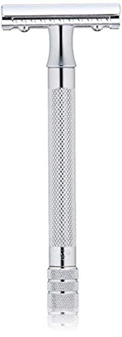 要求する辛い等価メルクール MERKUR (独) 髭剃り MK-23C(ひげそり) 両刃ホルダー (替刃1枚付) [並行輸入品]