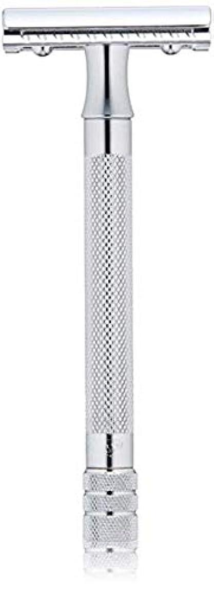 バレエ更新するジャグリングメルクール MERKUR (独) 髭剃り MK-23C(ひげそり) 両刃ホルダー (替刃1枚付) [並行輸入品]