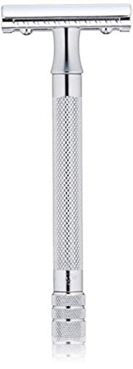 待つ差別債務メルクール MERKUR (独) 髭剃り MK-23C(ひげそり) 両刃ホルダー (替刃1枚付) [並行輸入品]