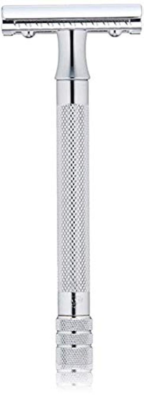 断線トランク無駄なメルクール(MERKUR) MK-23C 両面剃刀、替刃50枚、セーフティ替刃ゴミ箱の3点セット [並行輸入品]