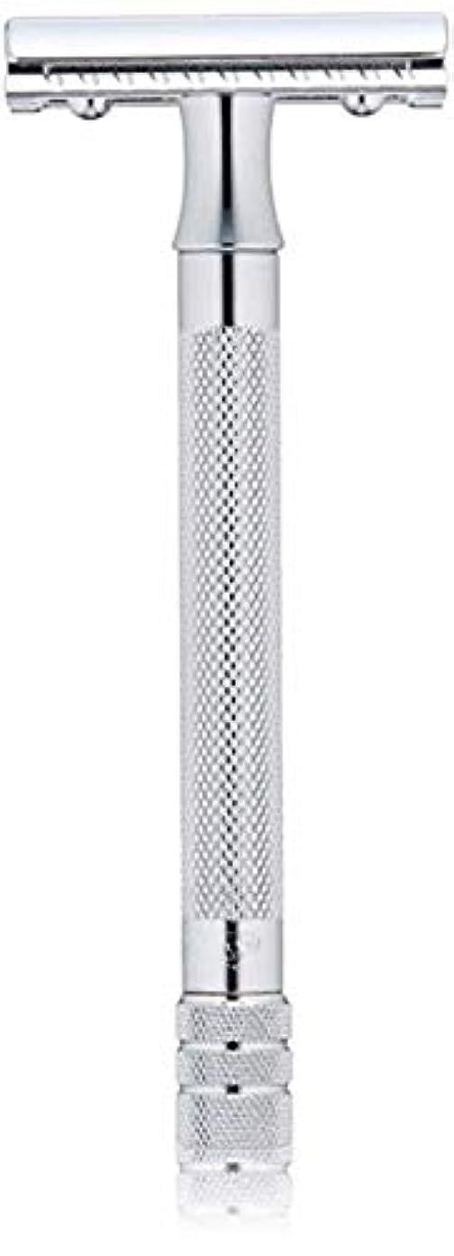 無視できるベリーコレクションメルクール MERKUR (独) 髭剃り MK-23C(ひげそり) 両刃ホルダー (替刃1枚付) [並行輸入品]