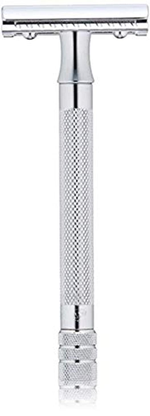 不健全敬意を表する頭痛メルクール MERKUR (独) 髭剃り MK-23C(ひげそり) 両刃ホルダー (替刃1枚付) [並行輸入品]